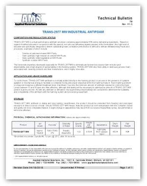 Technical Bulletins